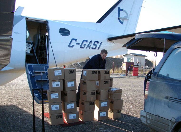 FNEI Program: Shipping product to Kashechewan First Nation: items must be flown in.